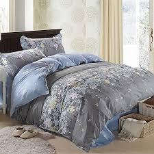 king size flower pattern bedding sets pillowcase quilt duvet cover