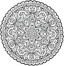 expert level coloring book pages for s mandalas to color complex mandala holiday