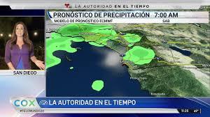 Consulta el pronóstico del tiempo local por hora, las condiciones meteorológicas, la probabilidad de lluvia, el punto de condensación, la humedad y el viento en weather.com y the weather channel. Pronostico Del Tiempo Para El Miercoles 7 De Octubre Telemundo San Diego 20