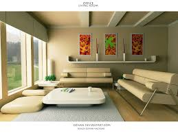 Interior For Living Room Decoration In Living Room House Photo