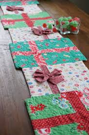 Best 25+ Christmas quilting ideas on Pinterest | Quilted table ... & use old family quilts and this would be extra amazing.they would make great  pot holders as well.This says: Christmas Table Runner Adamdwight.com