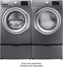 samsung platinum washer and dryer.  Dryer Best Buy Samsung 42 Cu Ft 9Cycle HighEfficiency Steam FrontLoading Washer  Platinum WF42H5200AP Inside And Dryer Buy