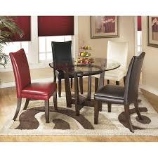 charrell 5 piece round dining set