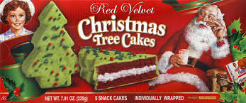 To help you through holiday baking season. Little Debbie Red Velvet Christmas Tree Cakes 5 Count Hy Vee Aisles Online Grocery Shopping