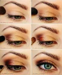 pretty golden eye makeup tutorial for blue eyes a collection of the best natural makeup tutorials for daily