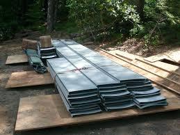 10 ft galvanized steel corrugated roof panel standing seam panels