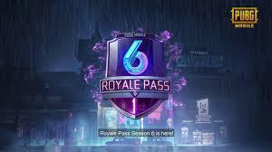 PUBG MOBILE Royale Pass Season 6 ...