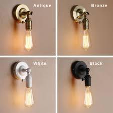 bare bulb lighting. Image Is Loading INDUSTRIAL-LIGHTING-BARE-BULB-LOFT-SCONCE-ANGLED-WALL- Bare Bulb Lighting