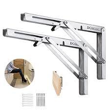 folding shelf brackets 12 inch
