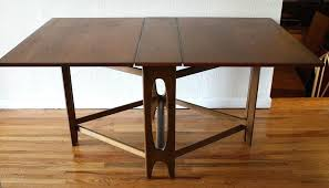 table with folding sides fold table elegant folding mount down kitchen build small with sides round