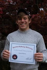Hannibal-LaGrange University - Ivan Oliver Athlete of the Year - Austin  Hawes | Facebook