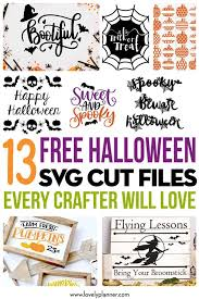 There are 2504 free halloween svg for sale on etsy, and they cost $2.26 on average. 13 Free Halloween Svg Cut Files Every Crafter Will Love Lovely Planner