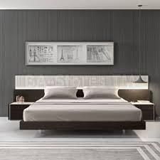 porto platform bed with nightstands  beds