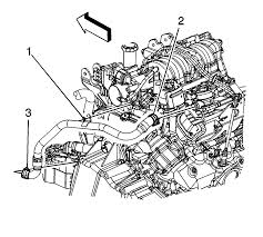 Graphic disconnect the engine wiring harness