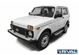 """<b>Порог</b> """"<b>BMW-Style</b>"""" <b>RIVAL</b> Lada 4x4 D128AL"""