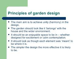 Small Picture Garden design session 3 presentation