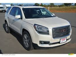 gmc acadia 2015 white. Delighful 2015 White Diamond Tricoat GMC Acadia Throughout Gmc 2015