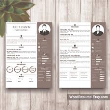 "Professional Resume Template Design - ""jeff T. Chafin"" - Creative ..."