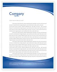 Free Business Letterhead Templates Business Environment Letterhead Template Layout For Microsoft Word