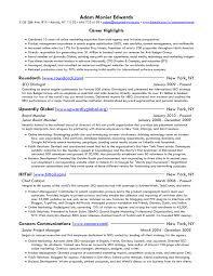 successful online marketing product management resume sample it