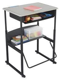 standing desk for school.  Standing AlphaBetter StandUp Desk With Book Box Beige Kydex Top 20 X 28 And Standing For School
