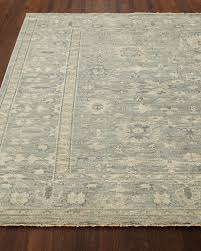 lambros hand knotted rug