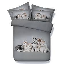 dog comforter set dog print comforter sets bedding duvet cover bed sheets spread linen quilt doona dog comforter set