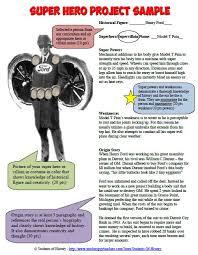 Characteristics Of A Superhero Students Of History Historical Superhero Project