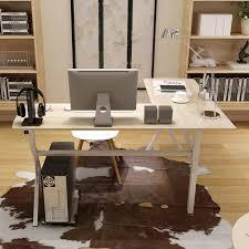 corner desk home office. Double Desks Home Office. Man Patriarch Desktop Computer Desk Office Corner Modern Minimalist