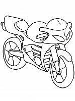 Moto Disegni Da Colorare E Stampare Gratis Immagini Per Bambini Disney