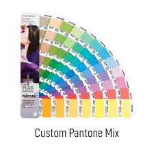 International Coatings Ink Color Chart 7500 Series Custom Pantone Mix