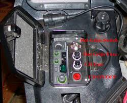 aftermarket cb radio i opened the radio and extended the mic wires out the side to avoid having to use the 5 pin din plug for the mic