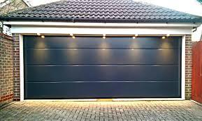 single garage doorDouble And Single Aluminium Sectional Overhead Garage Doors With