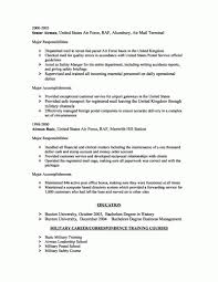 Basic Resume Examples Skills Resume Corner