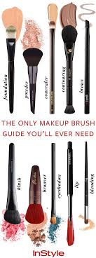 trying to figure out what makeup brush to use our definitive guide is