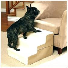 dog bed steps diy stairs for dogs to wooden pet wood tall beds extra bath and
