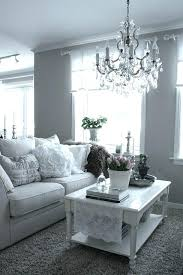 chandelier living room i have fallen in love with grey walls chandelier and white lace accents