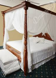 Pure 100% Silk Bed Canopy. Box. QUEEN