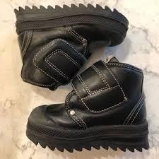 Pom D Api Size Chart Toddler Pom D Api Black Leather Boots Euro 23 Us 7