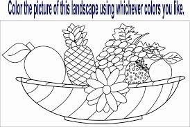 Vegetable coloring pages are a set of printable pictures for children with numerous educational values. Fruits And Vegetables Coloring Pages