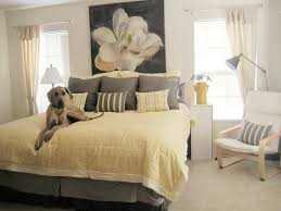 gray bedroom daccor dcacor x yellow and grey bedroom along with cool artistic wall decor