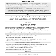Best Resume Templates Pharmaceutical Industry Gallery Entry