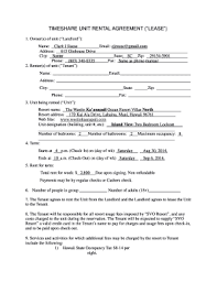 One Page Lease Agreement Simple One Page Lease Agreement Forms And Templates