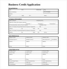 Generic Credit Application Charlotte Clergy Coalition