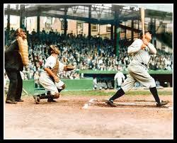 Babe Ruth Griffith Stadium Photo 8X10 Yankees COLORIZED   eBay