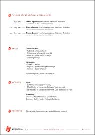 my resume - Resume For Interior Design