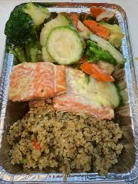 Green & gold quinoa salad zucchini (the green) and corn (the gold) brighten up your regular quinoa salad. 2 Kosher For Passover Salmon With Organic Quinoa And Organic Vegetables Dinners Amazon Com Grocery Gourmet Food