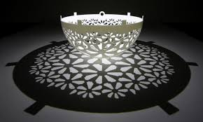 Shadow Lamps Geometric Shadow Play With 3d Printing 3d Printing Industry