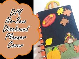 Diy Discbound Planner Cover No Sew Arc Happy Planner Mambi