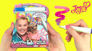 Check out jojo siwa coloring sheets below! Jojo Siwa Imagine Ink Coloring Book With Magic Marker And Bow Bow Toy Caboodle Youtube